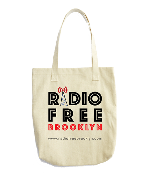 RFB White Tote Bag